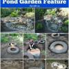 Genius Upcycling Proyecto de Neumáticos viejos: Haga una impresionante Característica Pond Jardín