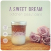 Gran receta de belleza - Coconut bricolaje y Rose Exfoliante Corporal