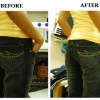 Gran manera de DIY - Cómo hacer tu Jeans Fit Mejor