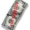 Un amigo mío dice que ella puede decir billetes falsos por la forma en que se sienten. es posible?