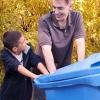 Cómo oportunidades de voluntariado de la familia trabajan