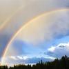 Cómo raros son doble arco iris?