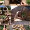 Cómo construir un horno de leña al aire libre de la mazorca Horno por $ 20