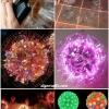 Cómo construir asombrosos Sparkle bolas en vasos de plástico