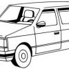 Cómo dibujar una minivan en 5 pasos