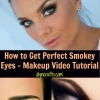 Cómo conseguir Perfect Smokey Eyes - Maquillaje Vídeo Tutorial