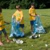 Cómo oportunidades de voluntariado para el trabajo de los niños