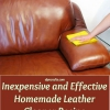 Barato y eficaz casera Receta Leather Cleaner
