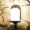 Aplique de vela de la linterna