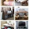 Un montón de Gran Handmade Furniture - 41 Proyectos de muebles de bricolaje