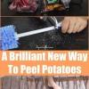 Probablemente la mejor comida Hack que jamás verás: Peeling Patatas con herramientas eléctricas