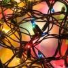 Reparación de las luces de Navidad