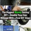 El DIY Mayor ahorro del dinero - el doble de su kilometraje del gas con unos pocos pasos de bricolaje