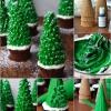 Estos Insanely Clever Cupcakes de Navidad árbol le hará la reina de la Navidad!