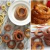 La hora de los dulces: Exquisitamente frito crujiente de canela de Apple Anillos