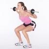 El levantamiento de pesas para las mujeres