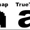 ¿Cuáles son las fuentes TrueType?