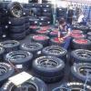 ¿Cuáles fueron las guerras de stock de neumáticos de coche?