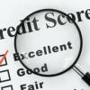 ¿Cuál de sus medios de puntuación de crédito