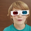 ¿Por qué no son 3-d gafas rojas y azules más?