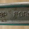 """¿Por qué herramientas han """"gota forjada"""" estampada en ellos? ¿Cuál es la forja de la gota?"""