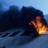 ¿Por qué el humo proviene de un incendio?