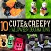 10 DIY decoraciones de Halloween | Decoración Cute & Creepy