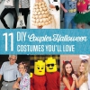 11 DIY Disfraces de Halloween Parejas