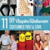 11 DIY Disfraces de Halloween Parejas