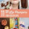 11 DIY labio más regordete Ideas para Labios Naturalmente Plump
