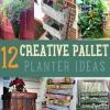 12 Ideas Creativo DIY Pallet Planter para la primavera