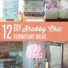 12 de bricolaje Ideas de Shabby Chic Muebles