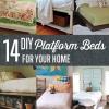 14 DIY Plataforma Camas