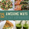 15 maneras impresionantes para comer espárragos