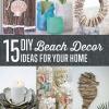 15 Ideas DIY Beach Decor