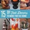 15 Otoño Decoración DIY Proyectos