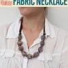 Collar de tela | Cómo hacer un collar