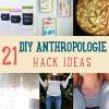 21 DIY Anthropologie Oficios Hacks que costará una fracción del precio