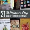 21 Ideas de bricolaje para el día de padre