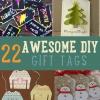 22 impresionantes Etiquetas del regalo de DIY | Christmas Gift Tags