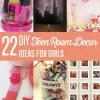 22 Fácil adolescente de habitaciones Decoración Ideas para Niñas