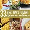 33 Perfecto Mac con queso Recetas