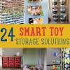 24 inteligentes DIY Juguetes & Crafts Storage Solutions