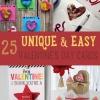 25 Único y Fácil Día de San Valentín Tarjetas usted debe hacer