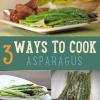3 maneras de cocinar el espárrago | Cómo cocinar el espárrago