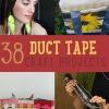38 Duct Tape Artesanía | Proyectos e Ideas
