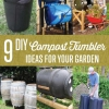 9 Ideas DIY compost Vaso