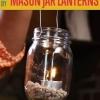 DIY fácil Mason Proyectos Linterna Jar