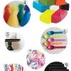 Guía de alimentación Negro + blanco + arco iris por todas partes Partido
