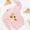 DIY ganchillo suéter de pizza